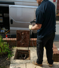 Drain clearance in Crowborough and Rotherfield